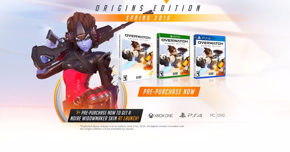 Overwatch Origins Edition Hits PC PS4 And Xbox One Spring 2016