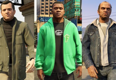 It S Clear That Gta S Trio Of Characters Are All Morally Flawed But