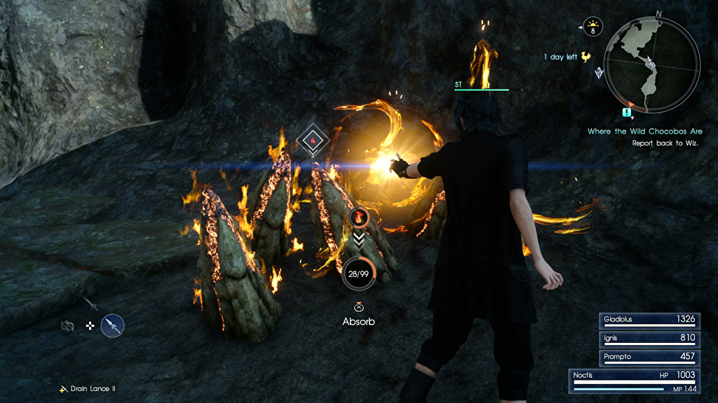 Final Fantasy 15 Elemancy And Magic Guide Catalysts Detailed USgamer
