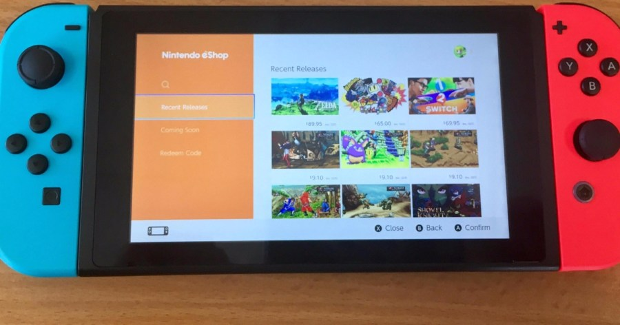 Image result for nintendo switch eShop