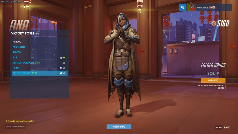 Year Of The Rooster Victory Poses Overwatch Metabomb