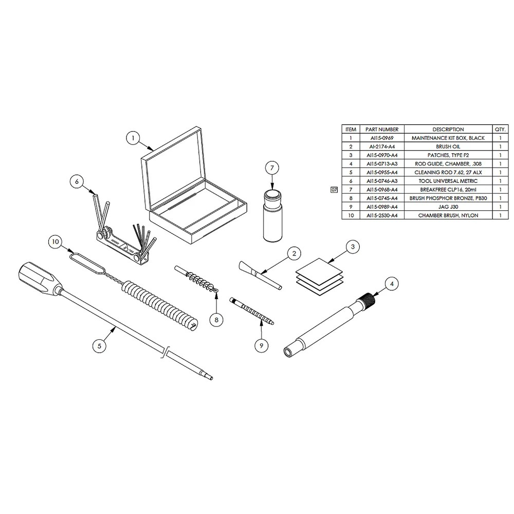 AI 7.62/.308 User Maintenance Kit 0705 for sale