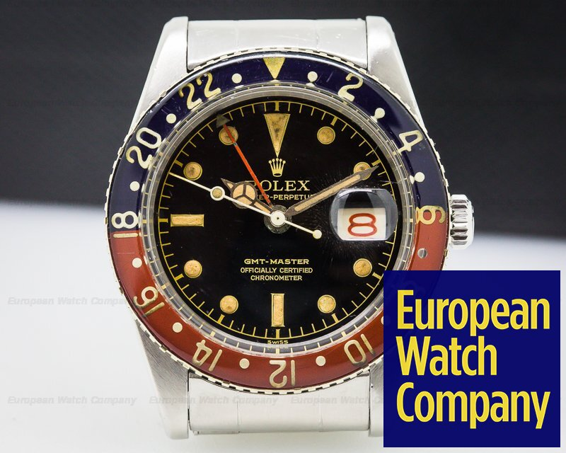 (26427) Rolex 6542 Vintage Gmt Master Bakelight Wow