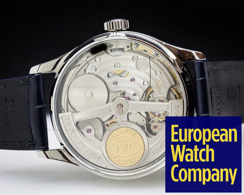 (27199) Iwc Iw500107 Portuguese 7 Day Automatic Ss
