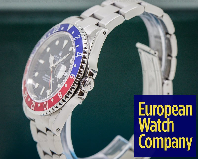 (29066) Rolex 16700 16700 Gmt Master Red  Blue Pepsi
