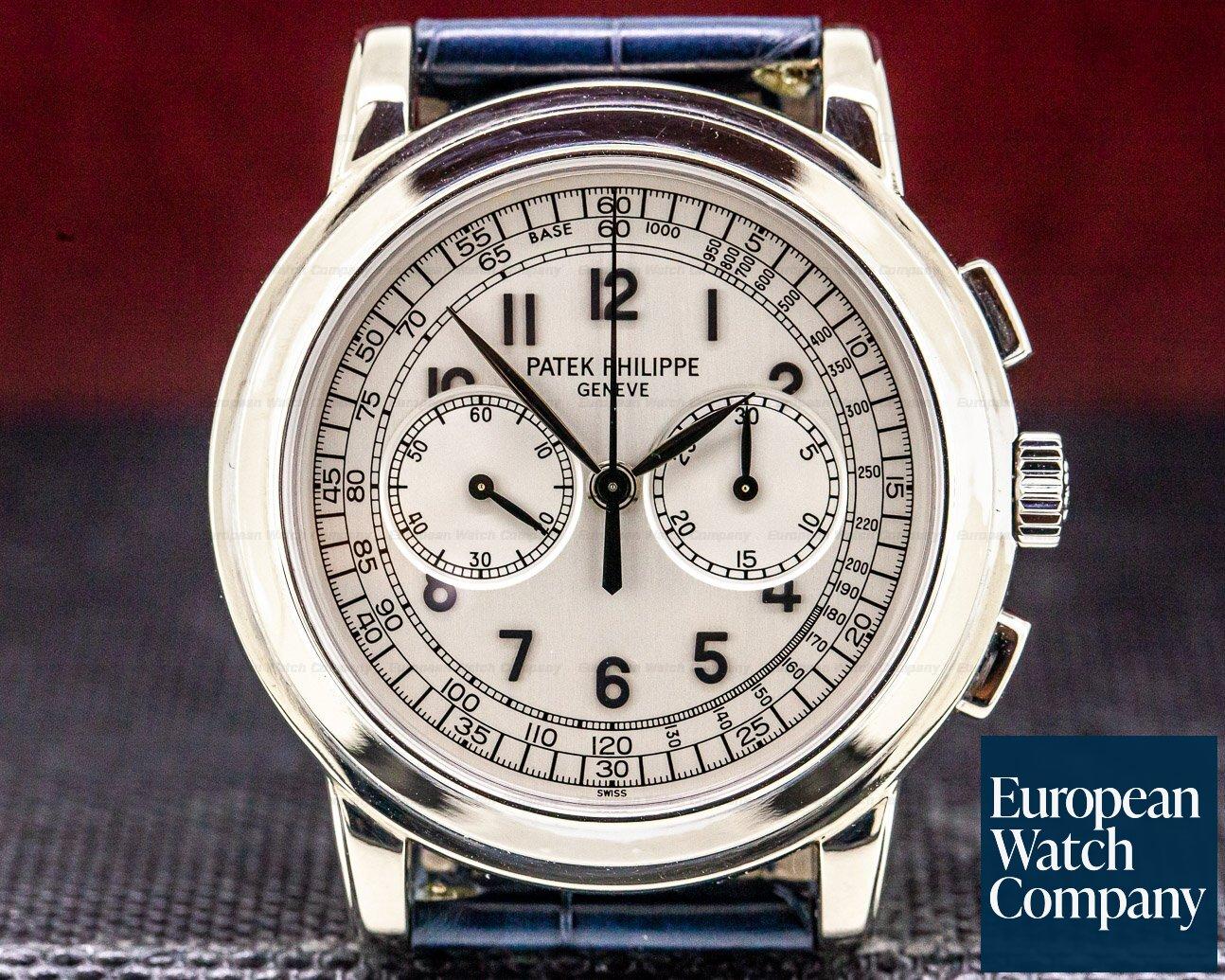 (31448) Patek Philippe 5070G 5070 White Gold Chronograph
