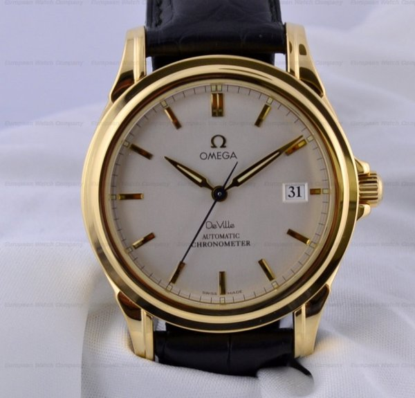 European Watch Company Omega Axial Automatic