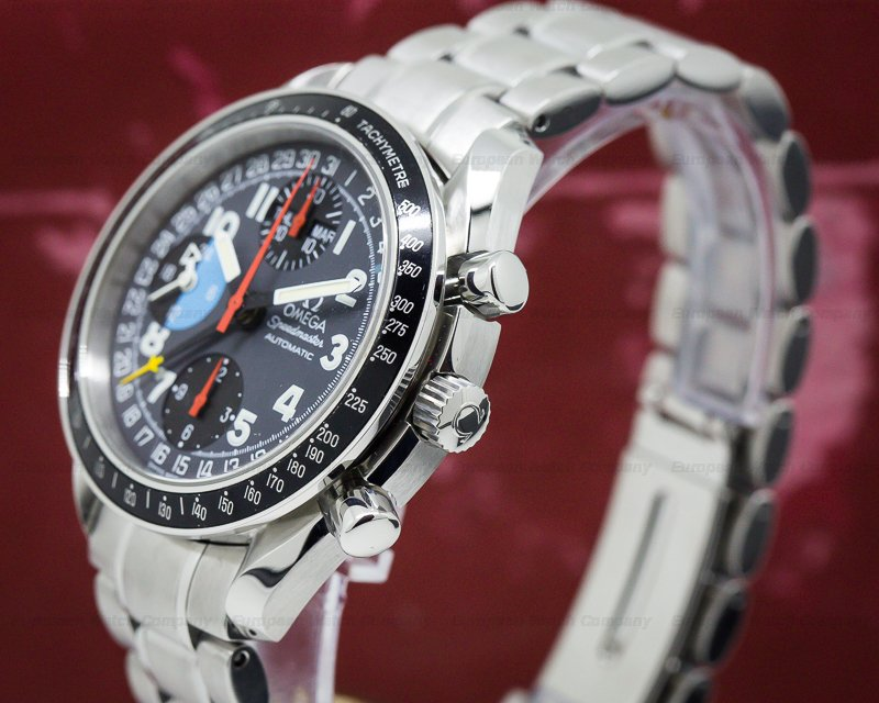 """(27897) Omega 35205300 Speedmaster Day Date """"exotic"""" Ss"""