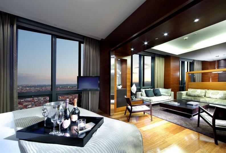 Fotos y Vdeos del Eurostars Hotel Madrid Tower