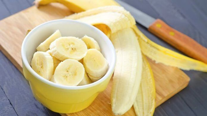 Bananas which contain magnesium