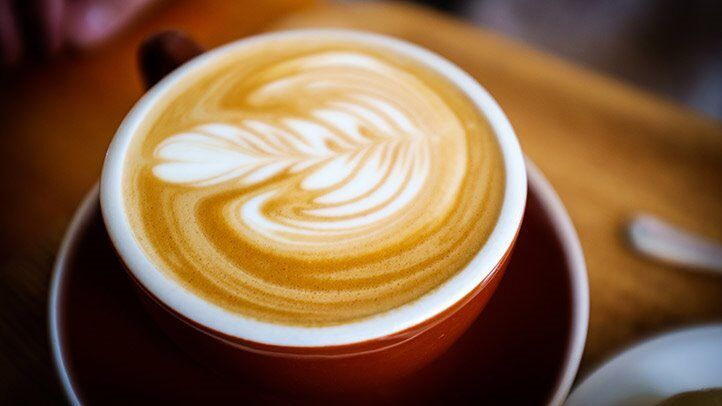 a cup of coffee, which is good for people with depression