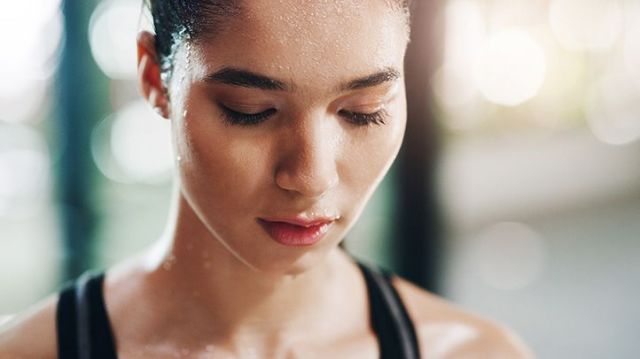 Image result for exercise and clear skin