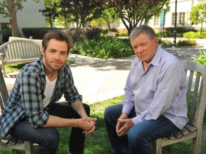 Star Trek: William Shatner vuole Chris Pine a interpretarlo in un film a lui dedicato
