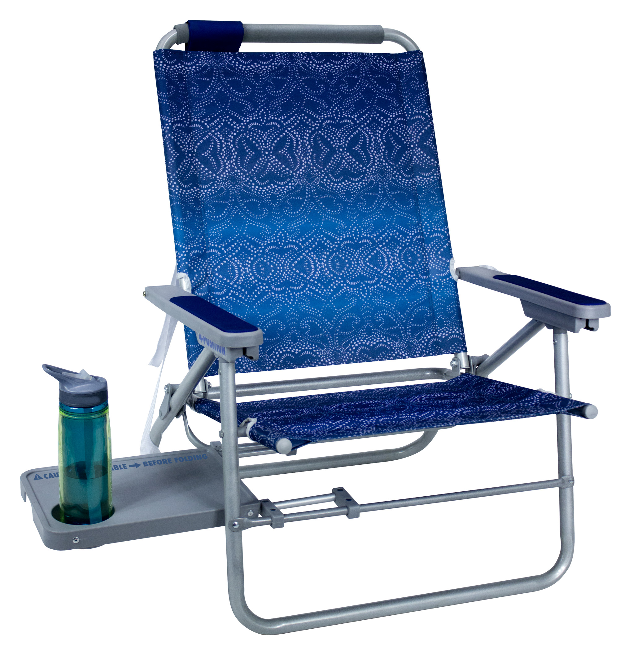 fishing chair with headrest dance for seniors big surf side table by gci waterside