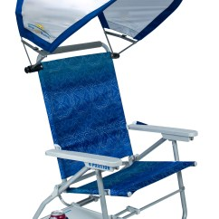 Beach Chairs With Shade Office Chair Adjustable Back Big Surf Slide Table And Sunshade By Gci Waterside