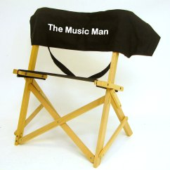 Personalized Folding Chair 2 Person Dining Table And Chairs Imprinted Gold Medal Sportsman Musicians