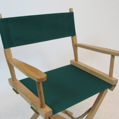 Director Chair Replacement Covers Ebay Campana Brothers Favela Canvas For Director's (flat Stick) - Hunter Green, New