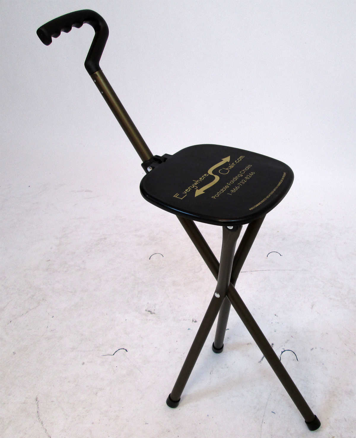 Walking Chair Sport Seat Mini Executive Walking Stick Portable Seat