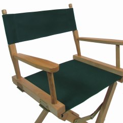 Directors Chair Replacement Covers For Two Person Sunbrella Cover Round Stick New