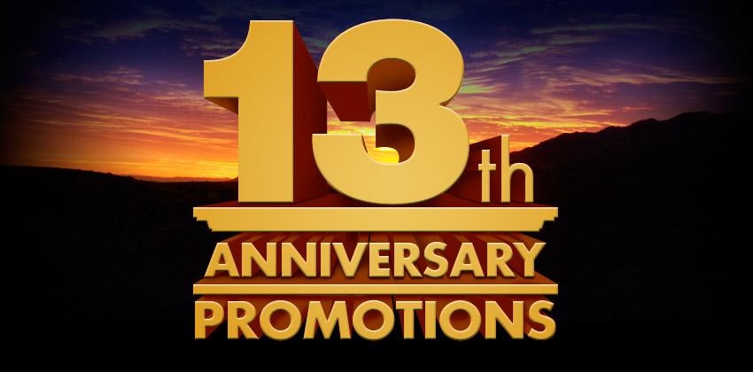 Evga Articles 13th Anniversary Specials