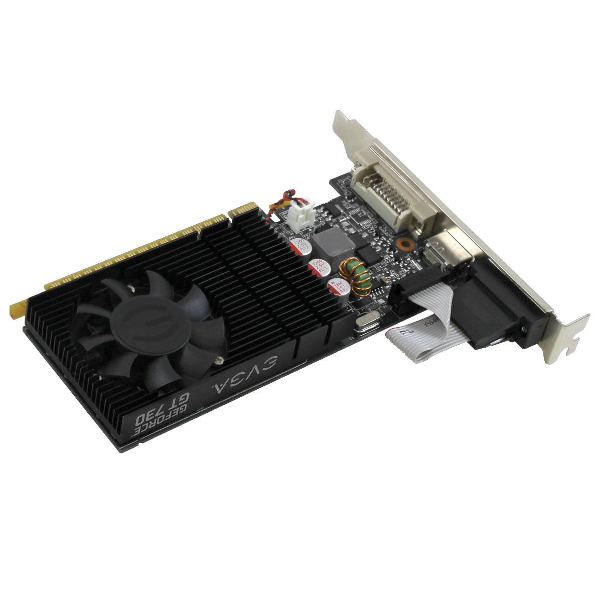EVGA - FR - Produits - EVGA GeForce GT 730 2GB (Low Profile) - 02G-P3-2732-KR
