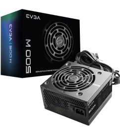 evga 500 w1 80 white 500w 3 year warranty power supply 100  [ 1200 x 1200 Pixel ]