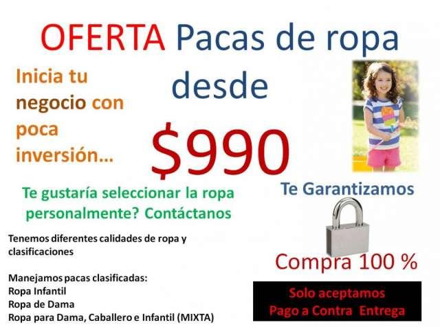 Pacas De Ropa En Guadalajara