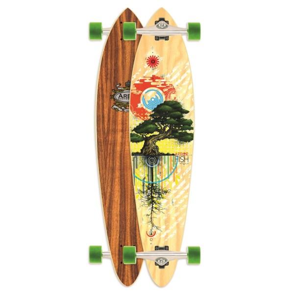 Arbor Fish Carver Longboard Complete Evo