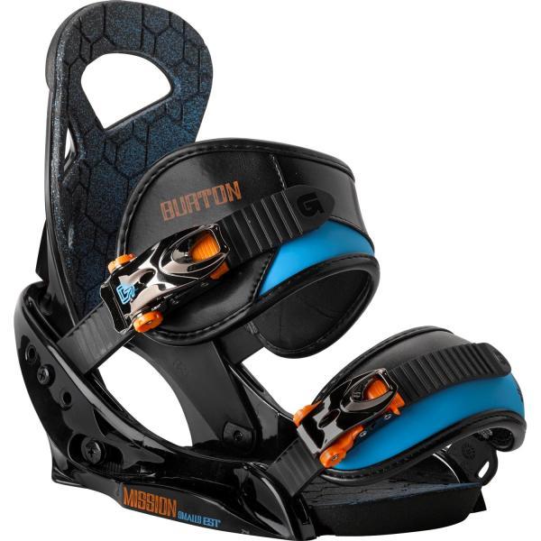 Burton Protest Snowboard Mission Smalls Est Bindings - Boy' 2014 Evo Outlet