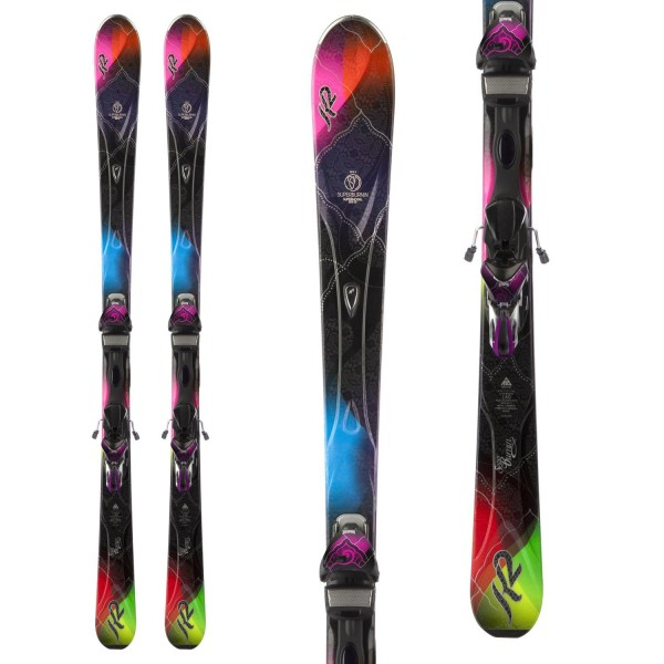K2 Superglide Skis Marker Ers 11.0 Tc Bindings - Women'