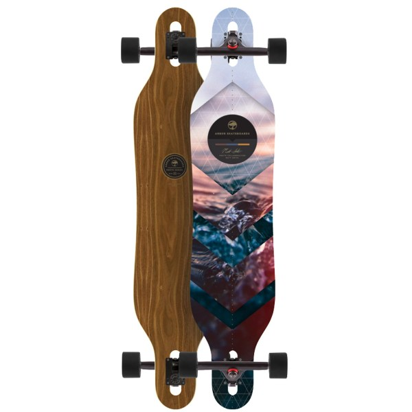 Arbor Axis Walnut Longboard Complete