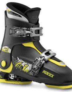 Roces idea adjustable alpine ski boots kids  also evo rh