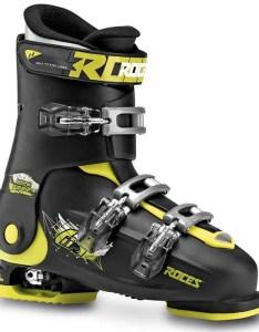 Roces idea free adjustable alpine ski boots kids  also rh evo