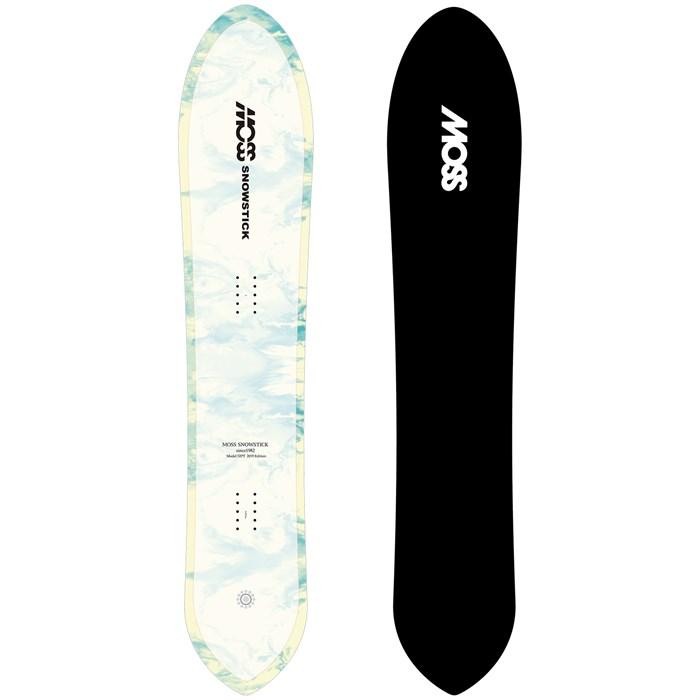 Moss Snowstick 52 Pintail Snowboard 2020 | evo