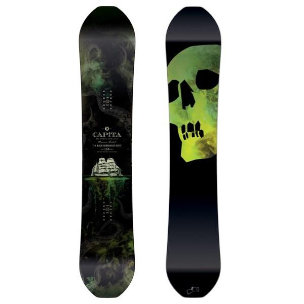 2017 Capita Black Snowboard of Death