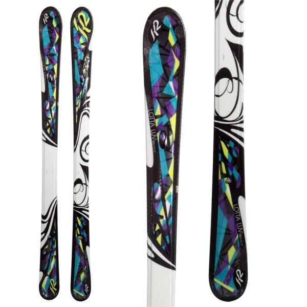 K2 Lotta Luv Skis - Women' 2011 Evo Outlet