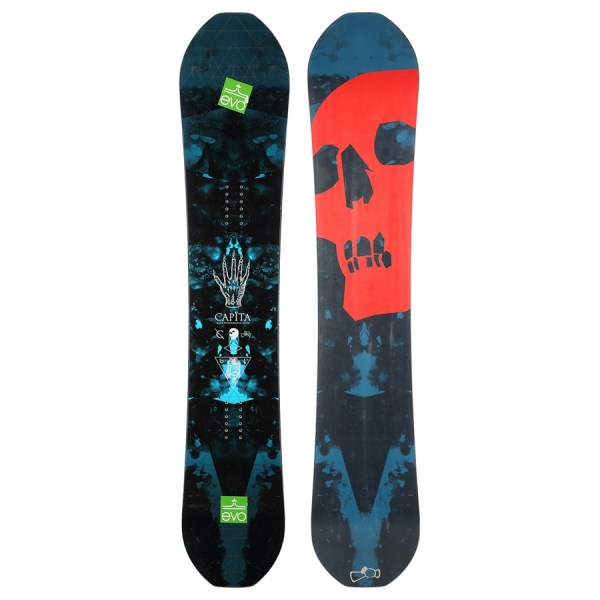 Capita Black Snowboard Of Death - Used 2014 Evo Outlet