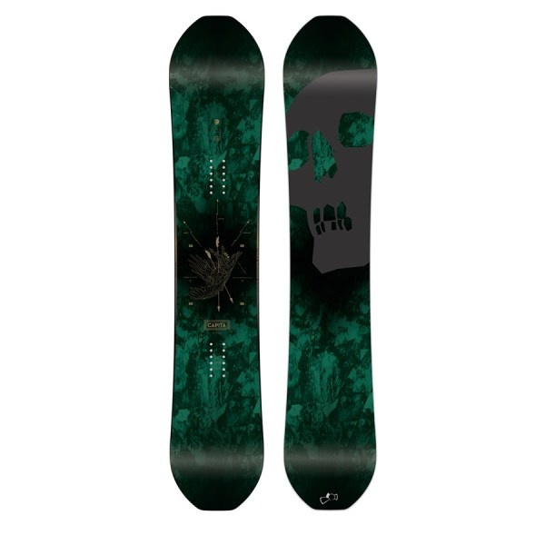 Capita Black Snowboard Of Death 2016 Evo Outlet