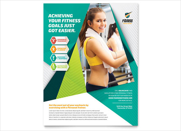 26 Examples Of Fitness Flyer Designs PSD AI Vector EPS