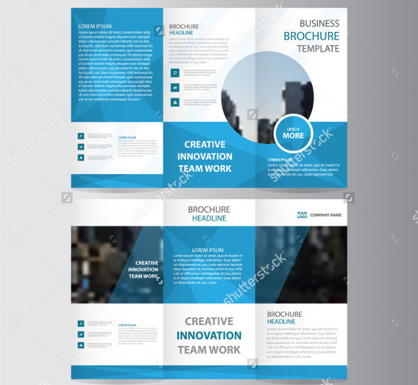 31 Examples Of Advertising Brochures Design PSD AI Vector EPS