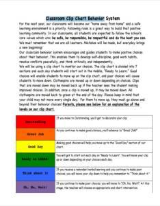 Classroom clip behavior chart also examples samples rh