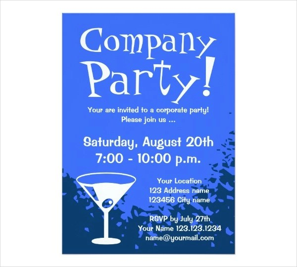 55 Party Invitation Designs  Examples  PSD AI EPS Vector  Examples