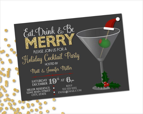 55 Party Invitation Designs  Examples  PSD AI EPS