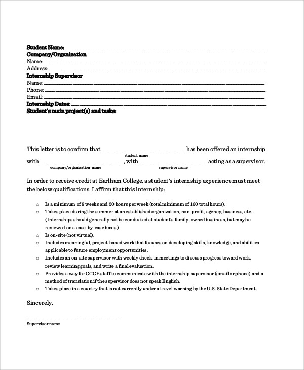 67+ Acceptance Letter Examples - Word, Apple Pages, Google Docs11+