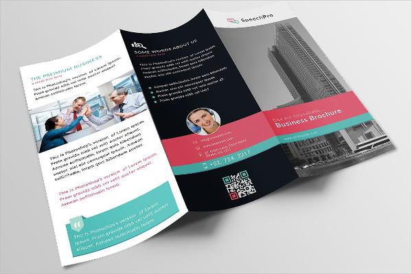 brochure design for real estate samples