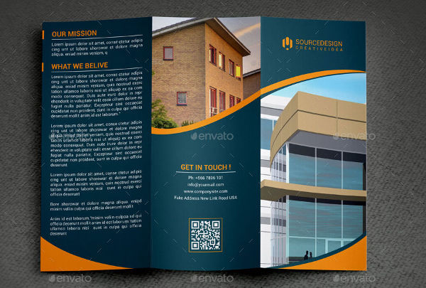 41 Real Estate Brochure Designs & Examples PSD AI Vector EPS