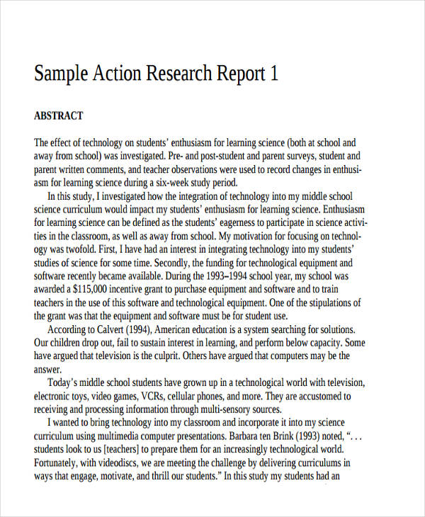 13 Research Report Examples PDF Word