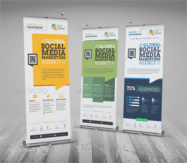 32 RollUp Banner Designs  Examples  PSD AI Vector EPS  Examples