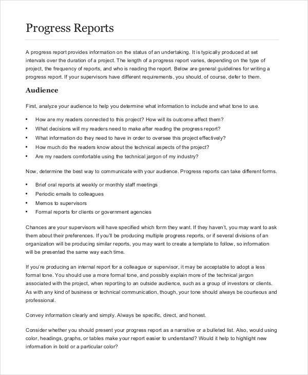 13 Formal Report Examples Word PDF Examples