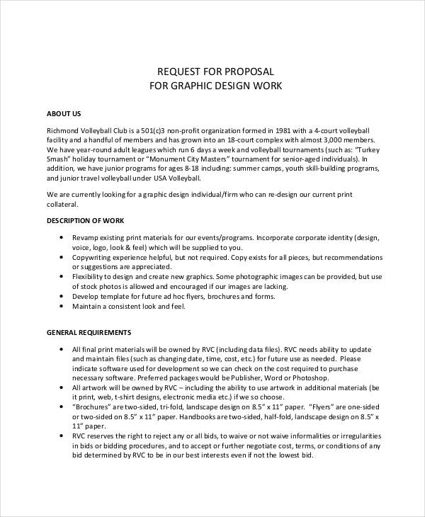 6 Freelance Proposal Examples Samples PDF Word Pages Examples